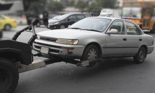 Błędy popełniane przy holowaniu samochodu